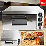 Commercial Pizza Oven Single Deck Stainless Steel