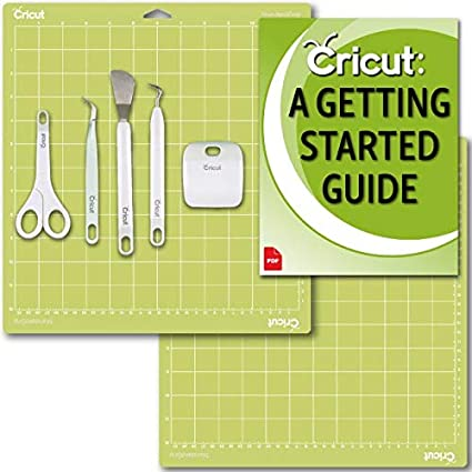 Beginner Guide Basic Tools Set 5 Pack and 12x12 Cutting Mat Bundle ...