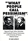 What People Call Pessimism, Mark Luprecht, 0929497287