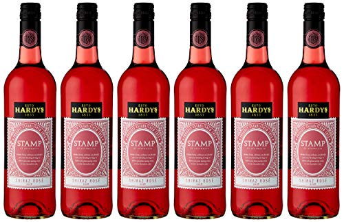 Hardys Stamp of Australia Shiraz Rose Wine, 75 cl (Case of 6)