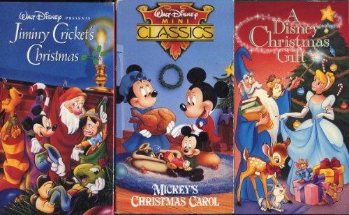 Amazon.com: Disney Christmas-set of Three VHS a Disney Christmas ...