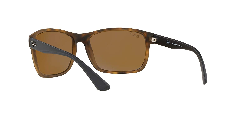 Amazon.com: Ray-Ban RB4301L Polarized Sunglasses, Matte Havana ...