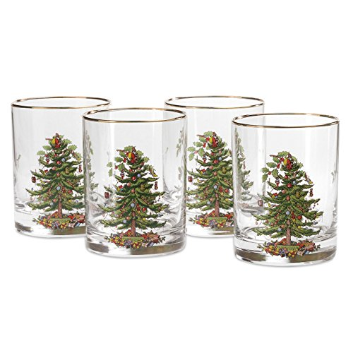 Spode Christmas Tree Glass Double Old Fashioneds Set(s) Of ()