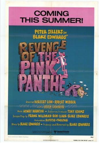 La venganza de los de la pantera rosa Póster de película B 11 ...