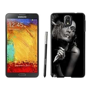 Beautiful Custom Designed Cover Case For Samsung Galaxy Note 3 N900A N900V N900P N900T With Decadent Lifestyle Smoking Girl 02 Phone Case WANGJING JINDA