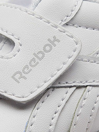 Reebok Royal Cljog 2 KC, Zapatillas de Trail Running Unisex Niños Blanco (White / Cloud Grey / Gum 000)