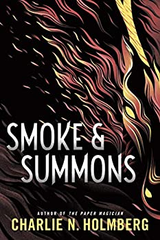 Smoke & Summons by Charlie N. Holmberg science fiction and fantasy book and audiobook reviews