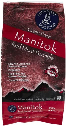 Annamaet Grain Free Manitok Dry Dog Food 15lb