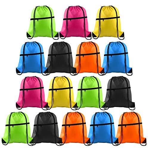 KUUQA 16Pcs Drawstring Backpack