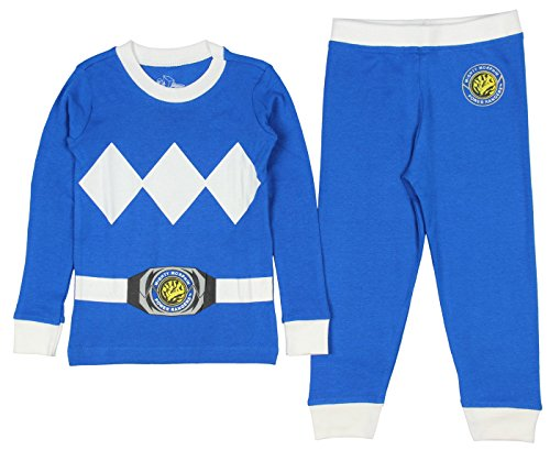 Toddler Mighty Morphin Power Rangers Costume Pajama Set
