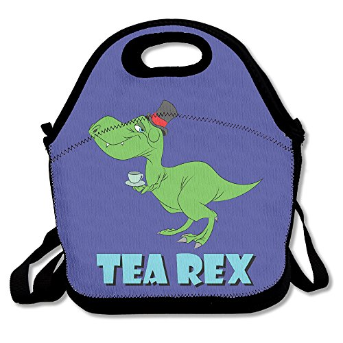 Price comparison product image T Rex The Tea Rex Funny Graphic 5 Polyester Lunch Bag
