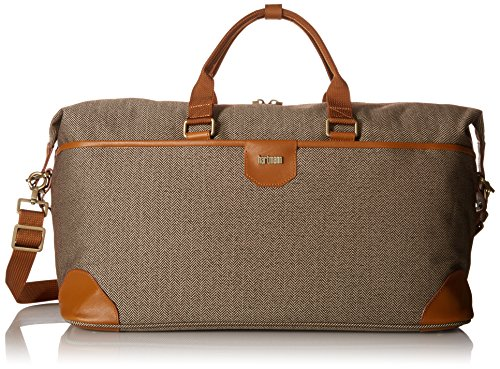 hartmann-herringbone-luxe-softside-weekend-duffel-terracotta-herringbone-one-size
