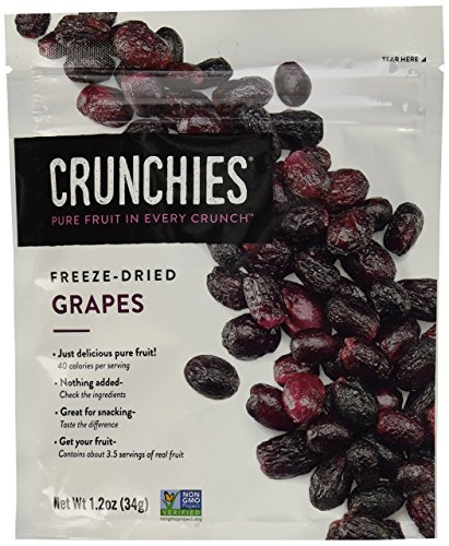 Crunchies Freeze Dried Grab n Go Grapes Ounce