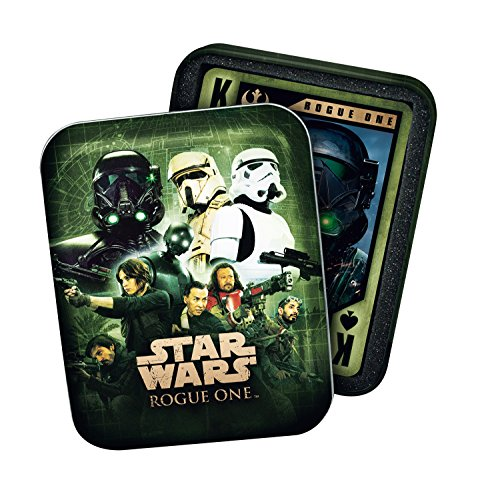 (Cartamundi 100199127 Star Wars Rogue One Playing Cards in Collectors Tin)