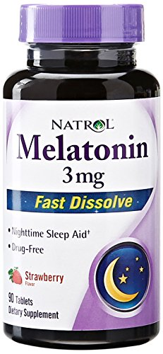 Natrol Melatonin Fast Dissolve tablets, Strawberry…