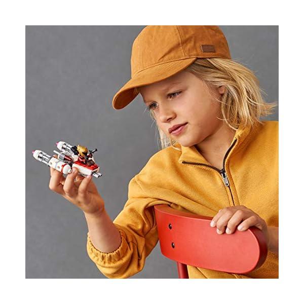 LEGO Star Wars - Microfighter Y-Wing della Resistenza con la Minifigure di Zorii Bliss con 2 Pistole Blaster, Set di… 5 spesavip