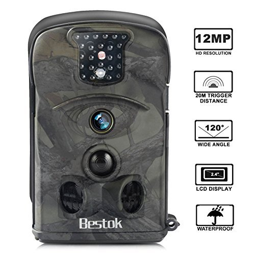 人気の春夏 Bestok Trail Camera 120° 12MP HD Infrared Infrared Night Vision Camera Deer 65ft 2.4'' LCD Game Camera and IP54 Waterproof Deer Camera [並行輸入品] B07F3HQF3H, トレッド4x4サービス:27f27826 --- martinemoeykens-com.access.secure-ssl-servers.info