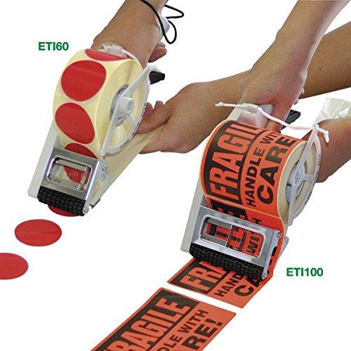 Propac z-eti60Distributeur Manuel de étiquette adhésives, 28x 8x 10cm 28x 8x 10cm