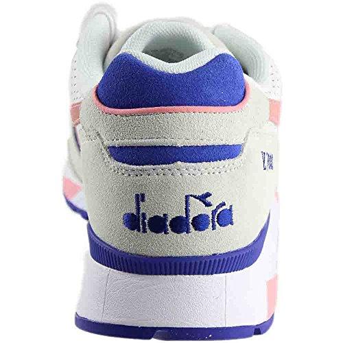 Diadora V7000 Premium Mens Gymnastik Vit / Blomning