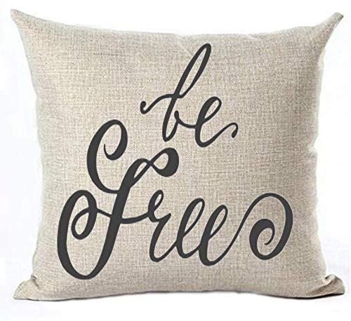 Swdream Frase Motivacional de la Vida Be Free Funda de ...