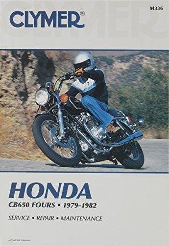 Amazon.com: Clymer Repair Manual for Honda CB650 CB-650 FOUR 79-82 on