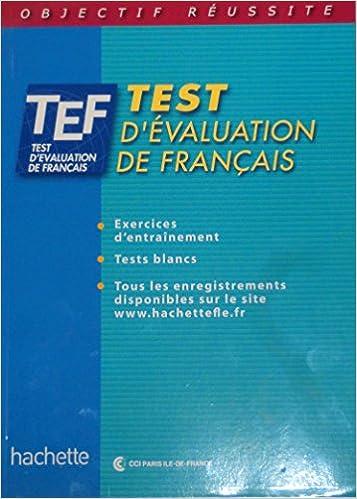 Test D Evaluation De Francais French Edition Ccip