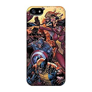 Cute Appearance Cover/tpu EEn2721QFQD Avengers I4 Case For Iphone 5/5s