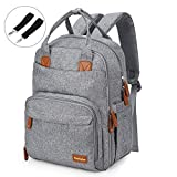 Conleke Diaper Bag backpack Multi-Function Waterproof Travel Backpack Nappy Bags for Baby Care
