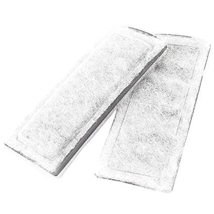Amazon.com : eDealMax acuario de carbón Activo de reemplazo del filtro de esponja, gris/Blanco : Pet Supplies
