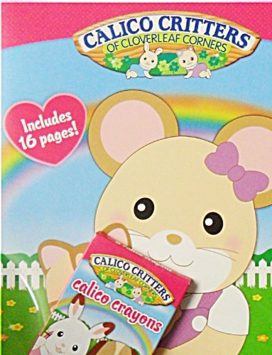 Buy Calico Critters Cloverleaf Coloring Book With Crayons Online At Low Prices In India Amazon In