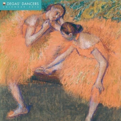 Degas' Dancers 2016 Square 12x12 Flame Tree