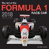 Image of The Art of the Formula 1 Race Car 2018: 16 Month Calendar Includes September 2017 Through December 2018