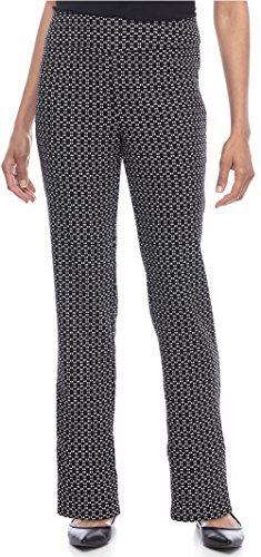 Alfred Dunner Women's Short Saratoga Springs Printed Allure Pants, Multi (18 Short) by Alfred Dunner