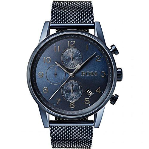 HUGO BOSS Men's Chronograph Quartz Watch with Stainless Steel Bracelet – 1513538