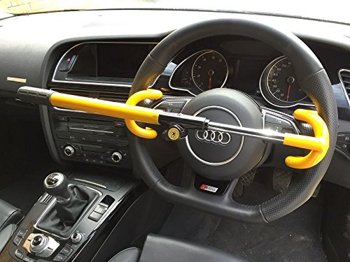 Peugeot 3008 Anti Theft Double Hook Security Steering Wheel Lock: