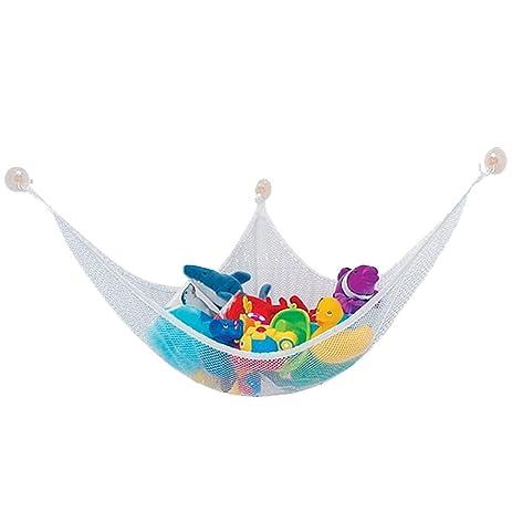 Children Kids Safe Corner Storage Net; Toy Hammock Stuffed Animal Storage,  Hanging Net Corner