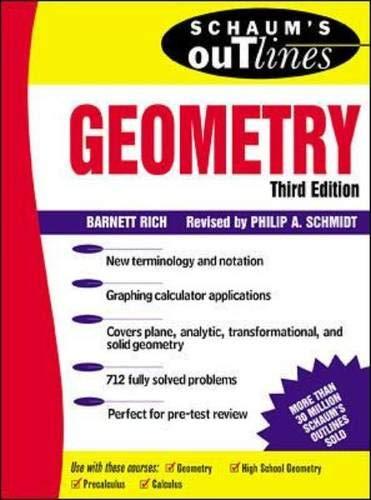 Schaum's Outline of Geometry