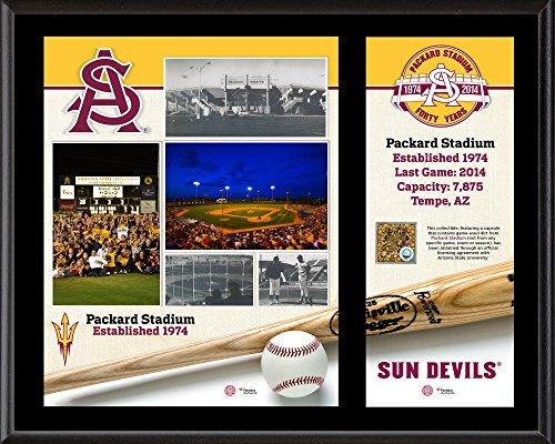 "Arizona State Sun Devils 12"" x 15"" Sublimated Baseball Pl..."