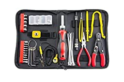 Professional 67-Piece Tools Kit For PC Computer Desktop Installation and Repair Fix Tool Kit with Black Case by iRepair Mac