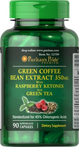 Puritans-Pride-Green-Coffee-Bean-Green-Tea-Raspberry-Ketone-90-Capsules