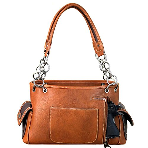 Suddle Brown Montana à porter Sac West L femme Stitch à l'épaule pour SqBvSz