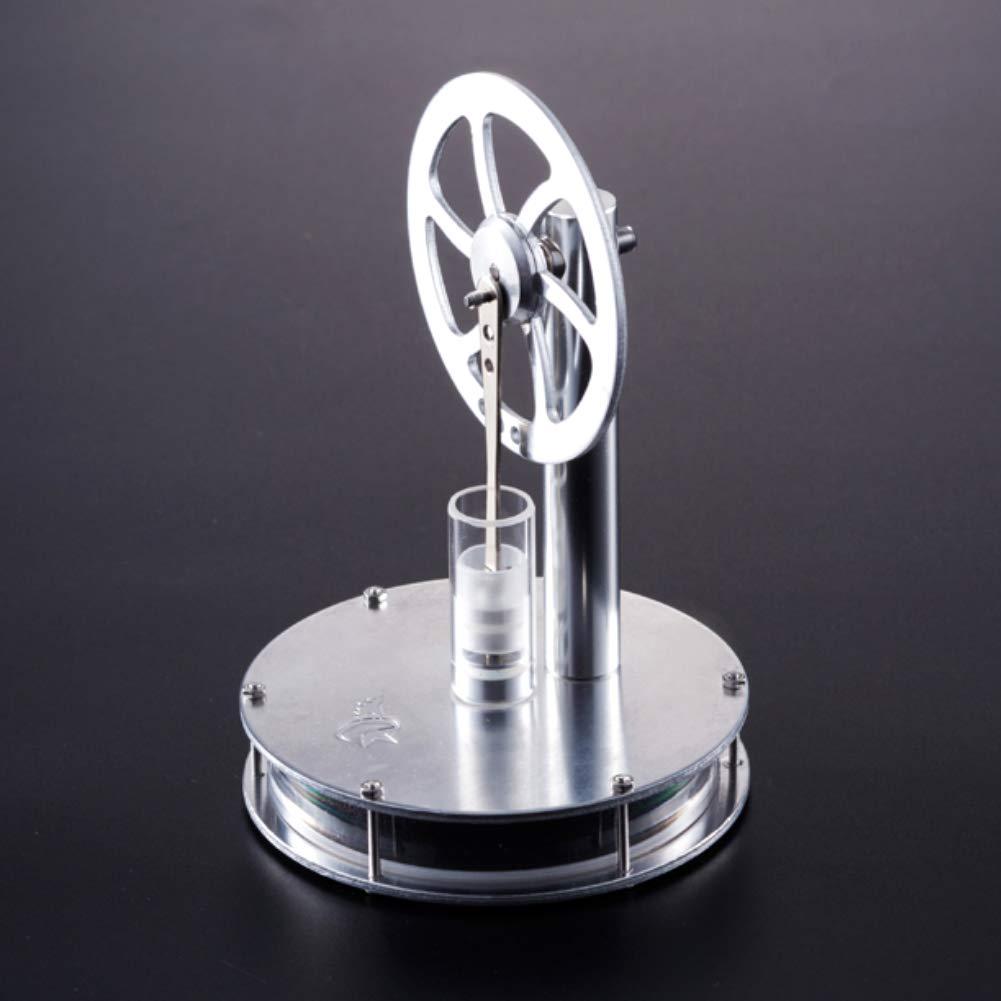 At27clekca Low Temperature Metal Stirling Engine Model Steam Motor Kids Educational Toy by At27clekca (Image #5)