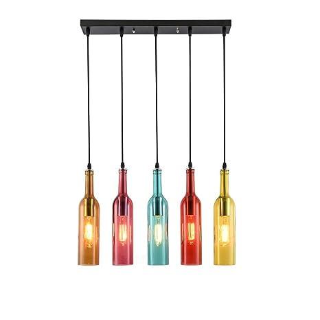 Vendimia Viento Industrial Colgante de luz Lámpara colgante ...