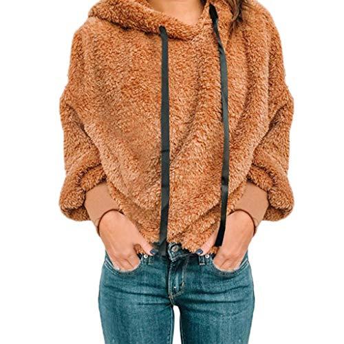 Loose Casual Plush Sweatshirt Women Casual Hooded Blouse Long Sleeve Shirt