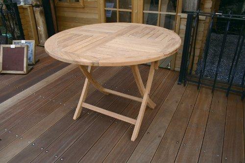 折り畳み丸テーブル B00KW27C2K