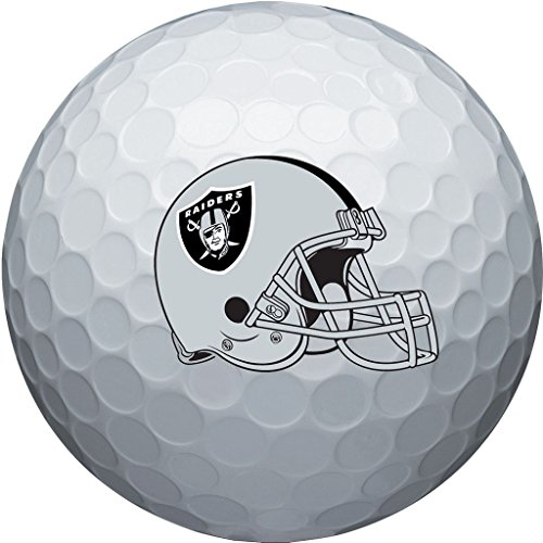 NFL Oakland Raiders Golf Ball, Pack of 6