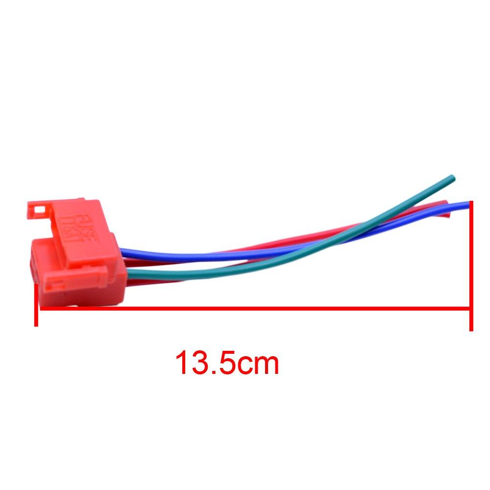 Flypig 4 Way Starter Solenoid Relay Plug Connector For 1982 Honda Goldwing Gl1200 Aspencade Wiring Diagram Usa Cbr600 F2 F3 Cbr900 Cbr929 Cbr954 Cbr1100xx Vtr Automotive