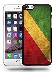 Congo National Vintage Flag Phone Case Cover Designs for iPhone 6 Plus