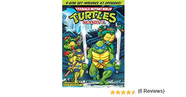Teenage Mutant Ninja Turtles: Season 3 Reino Unido DVD ...