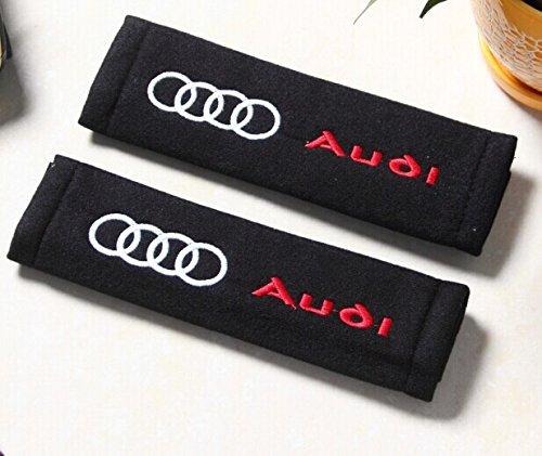Audi Accessory Belt (D&R® Set of 2 Seat Belt Covers Shoulder Pads For)
